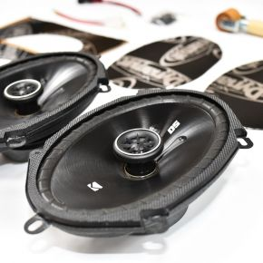 Ford Fiesta Mk5 Speaker Upgrade Kit - PERFORMANCE