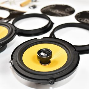 Ford Fiesta Mk7 Speaker Upgrade Kit - PREMIUM