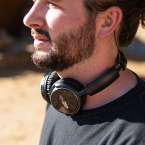 Bluetooth Headphones with Micro SD and AUX