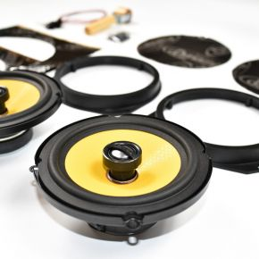 Vauxhall Corsa D Speaker Upgrade Kit - PREMIUM