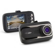 HD Wide Angle Front & Rear Dash Camera With GPS